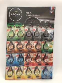 Ароматизатор Aroma Car Magic Gel - пл.-20шт.